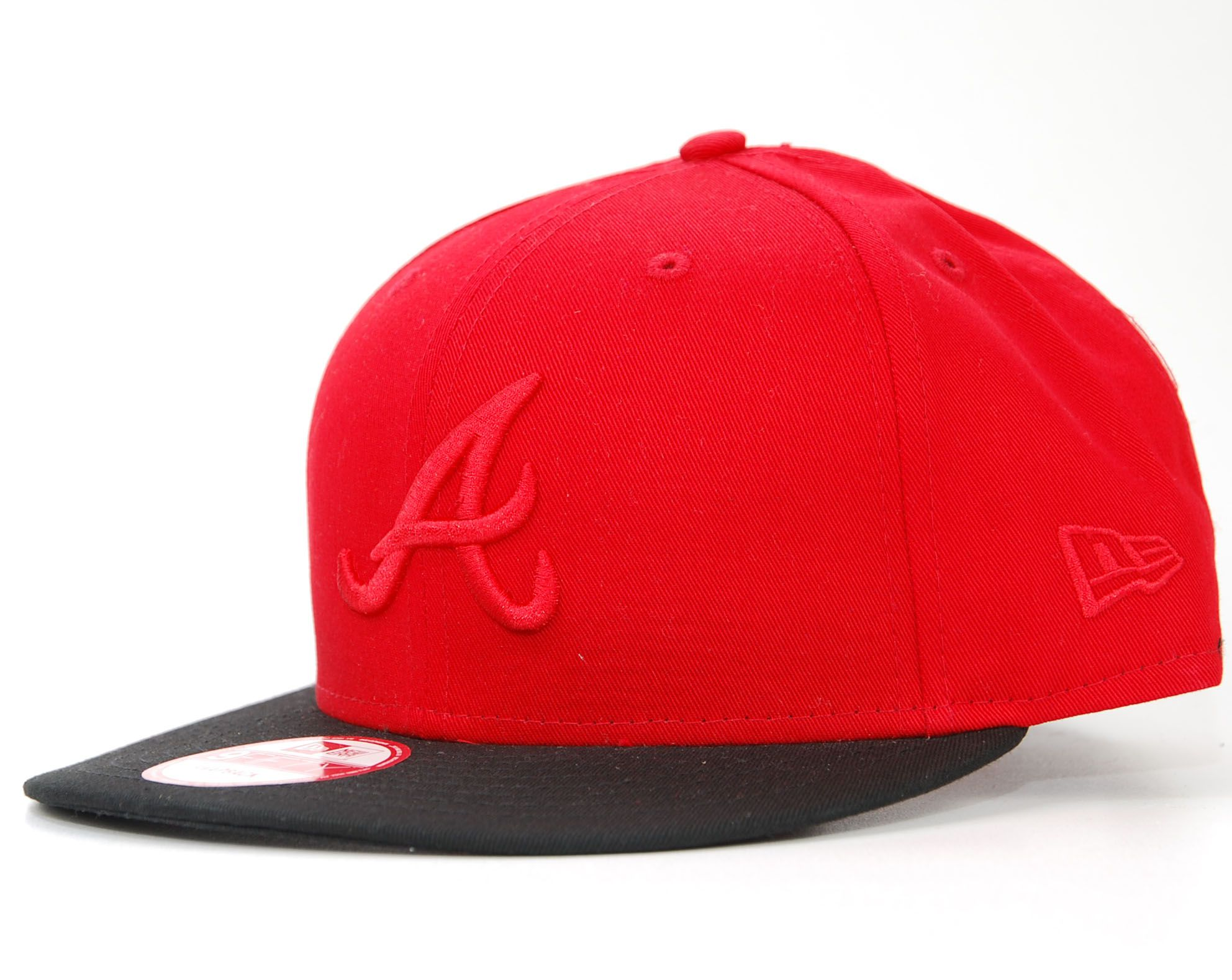 new era snapback atlanta braves rot schwarz pop tonal. Black Bedroom Furniture Sets. Home Design Ideas